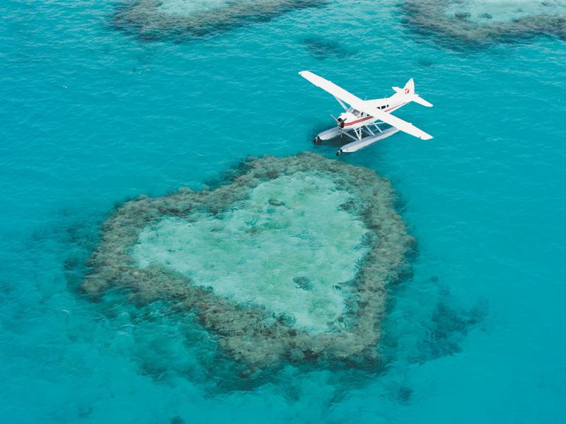 Great Barrier Reef - Heart Reef