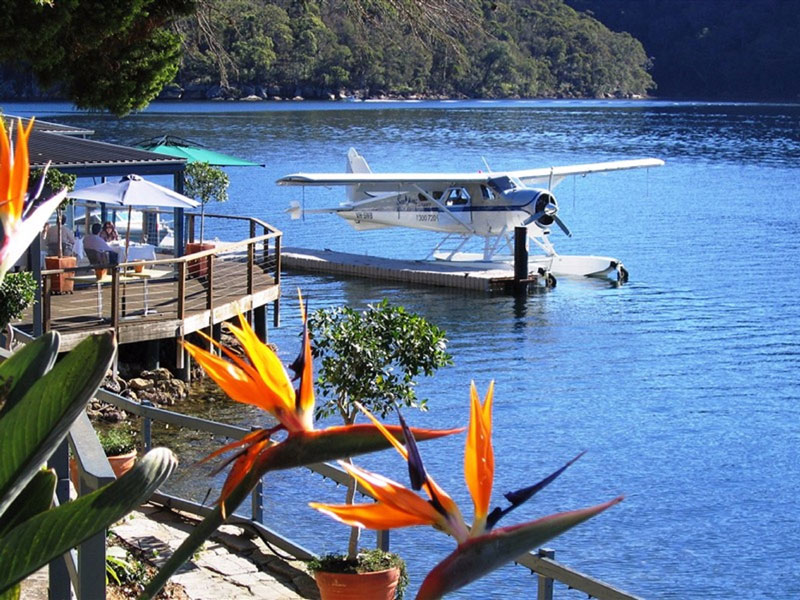 Sydney - Seaplane to Cottage Point for Lunch