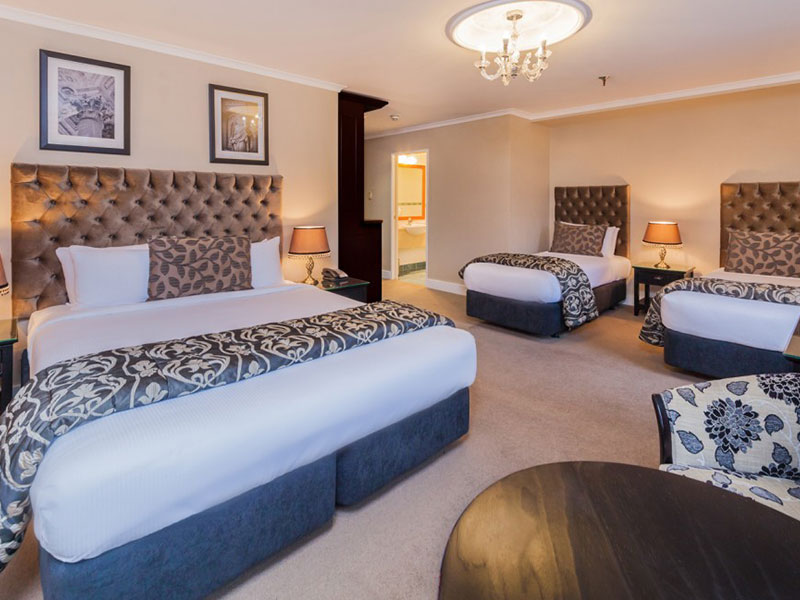 Chateau Tongariro Hotel - Family Room