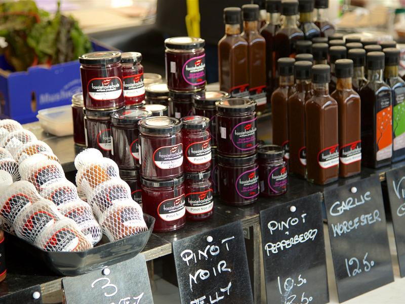 Tasmania - Hobart Salamanca Market