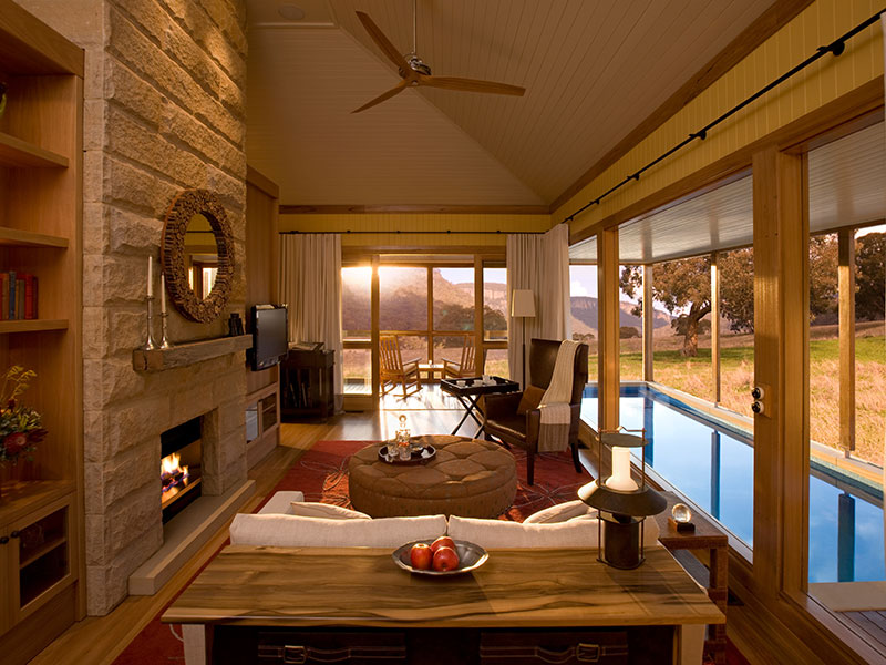 Emirates One&Only Wolgan Valley - Heritage Suite Living Room