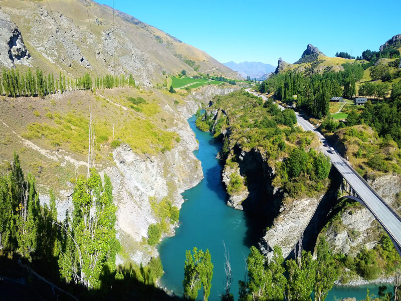 Kawarau River near Queenstown