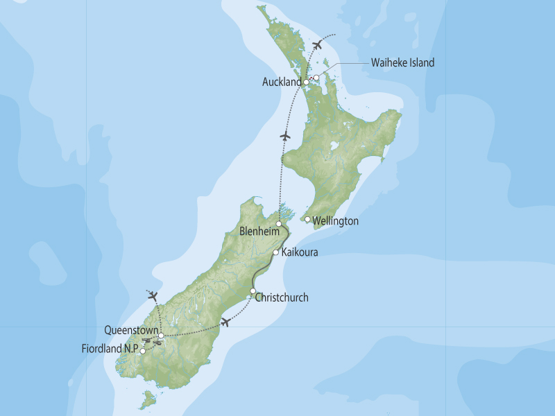 Fjords, Whales & Wineries Tour | South Pacific By Design | South