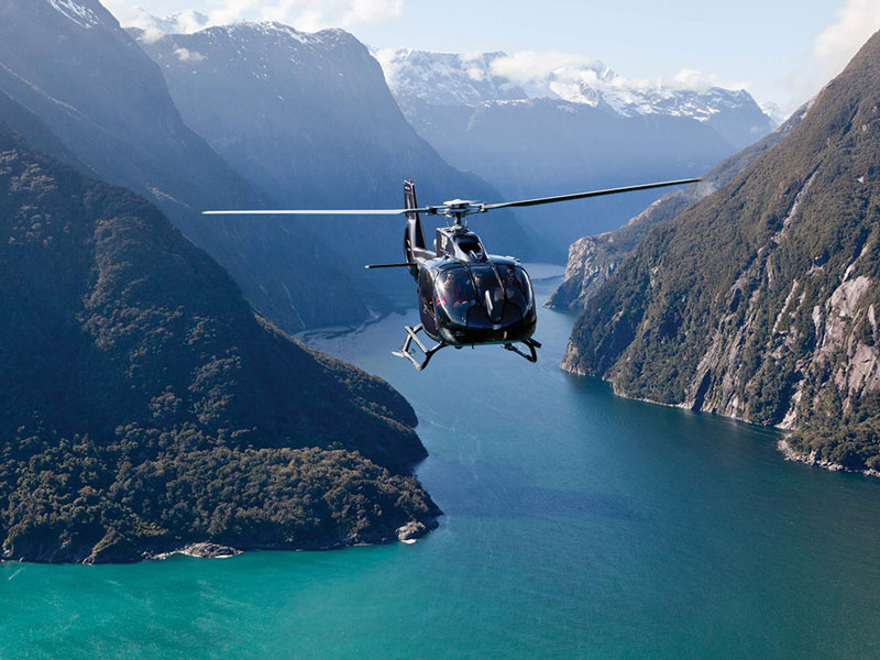 Soaring Over Milford Sound