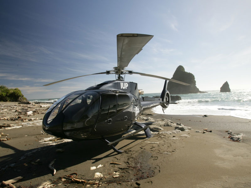 Full Day Private Heli Excursion to Milford Sound & West Coast with Picnic of a Peak