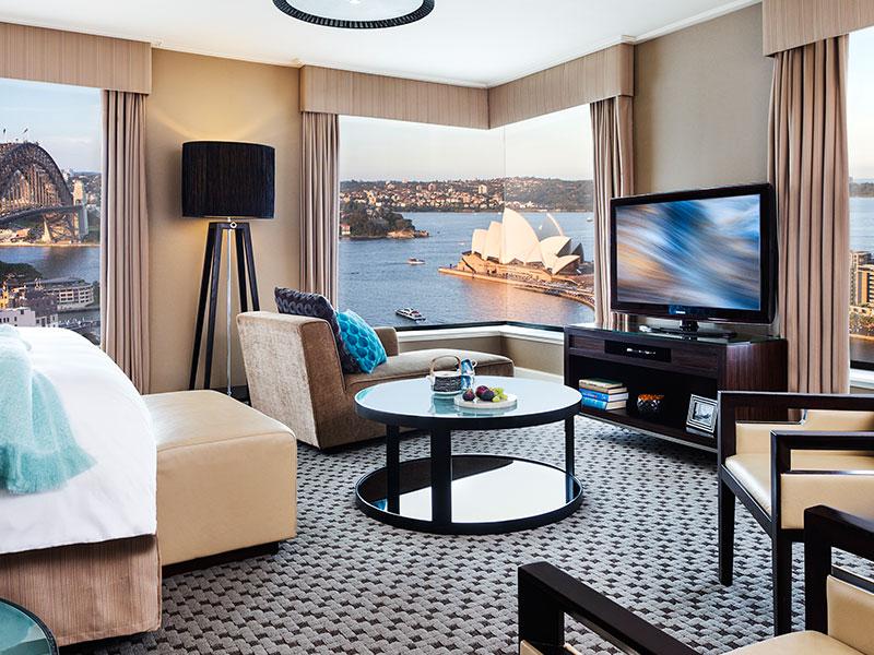 Four Seasons Sydney - Junior Suite Full Harbour View