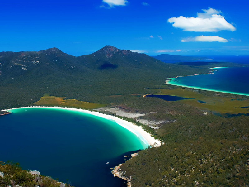 Tasmania - Freycinet National Park Wineglass Bay