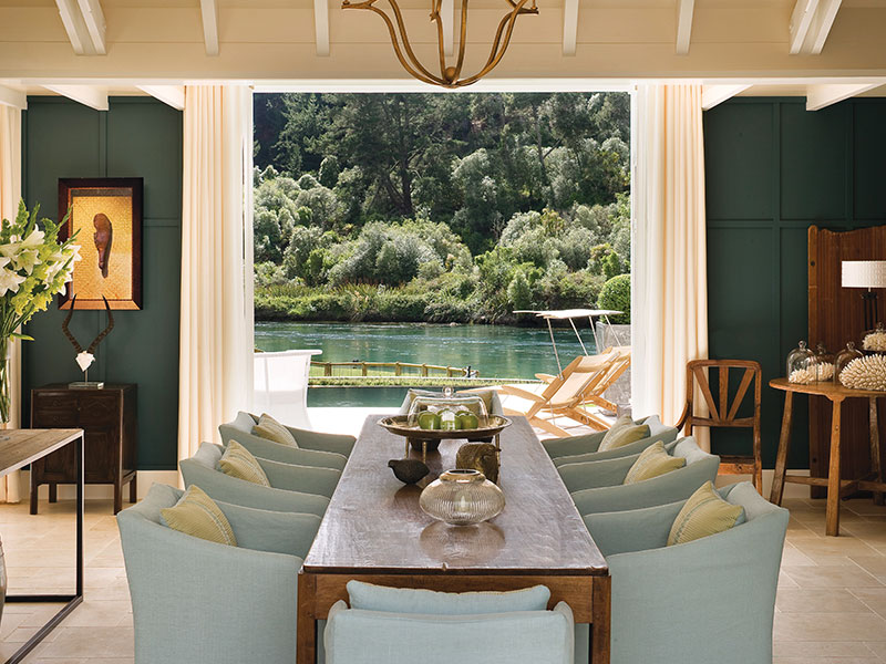 Huka Lodge - Dining