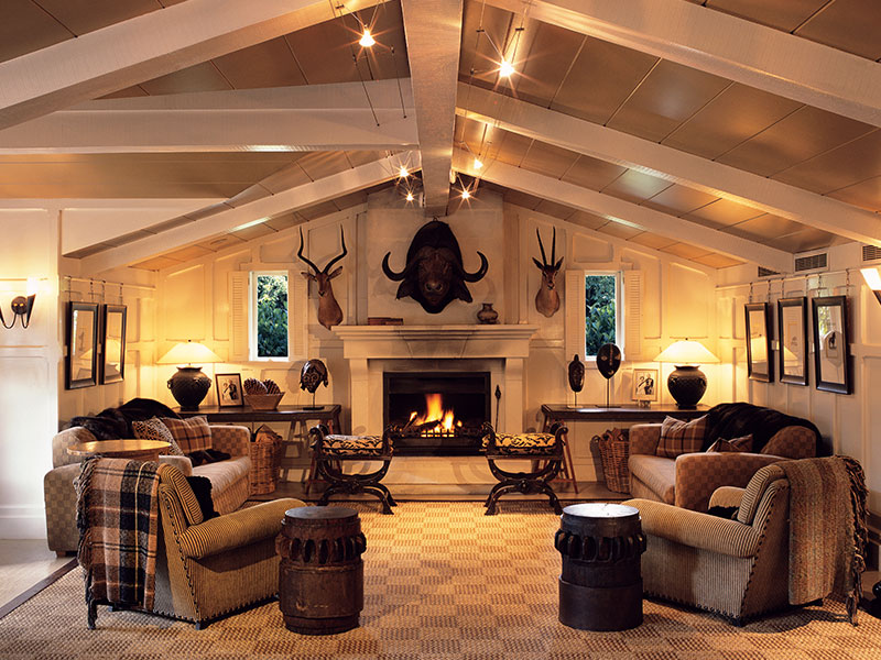 Huka Lodge - trophy Room Dining