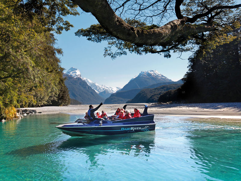 Dart River Wilderness Funyak Safari into Mt Aspiring National Park