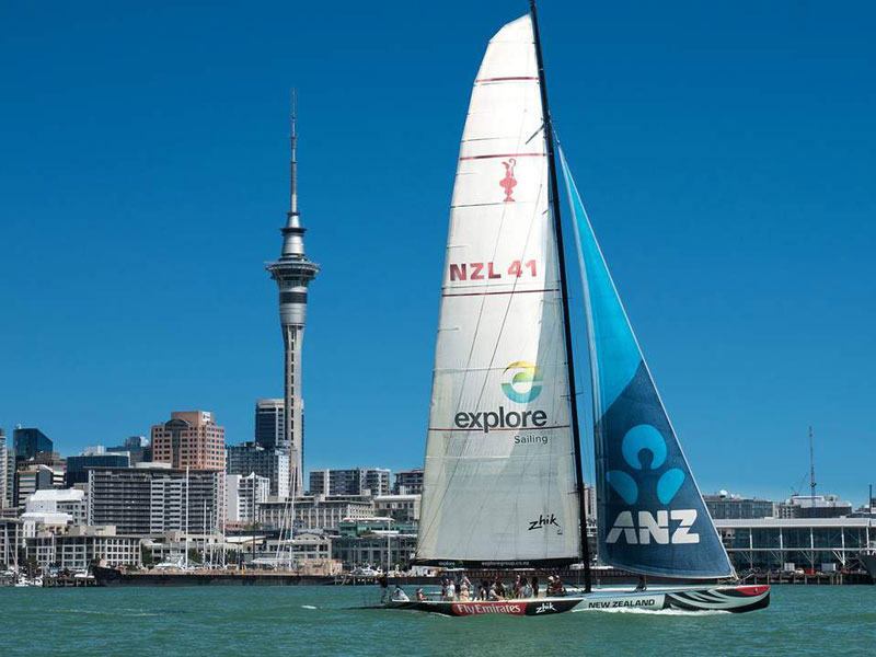 America's Cup Sailing Experience, Auckland, New Zealand