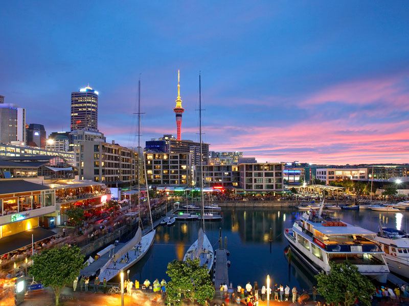 Viaduct, Auckland, New Zealand
