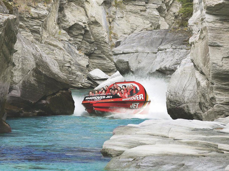 Shotover Jet Boat, Queenstown, New Zealand