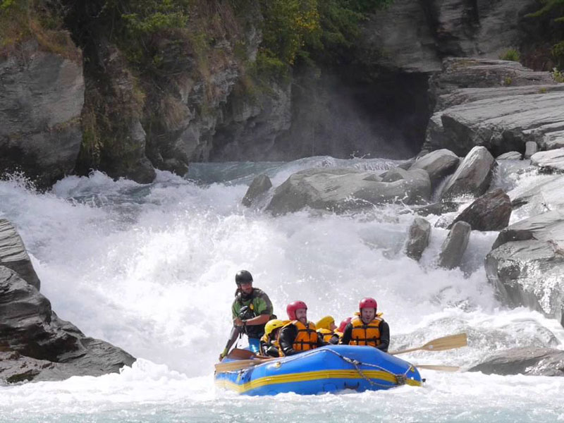 Whitewater Rafting, Shotover River, Queenstown, New Zealand