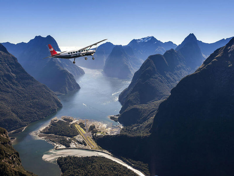 Milford Sound Fly / Cruise Fly Tour