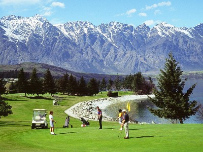New Zealand Golfing Heaven