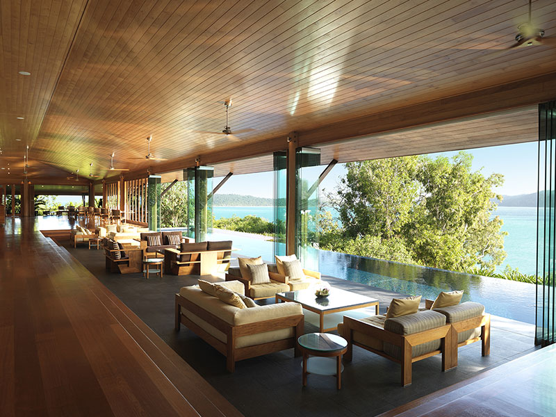 Qualia Great Barrier Reef - Long Pavilion