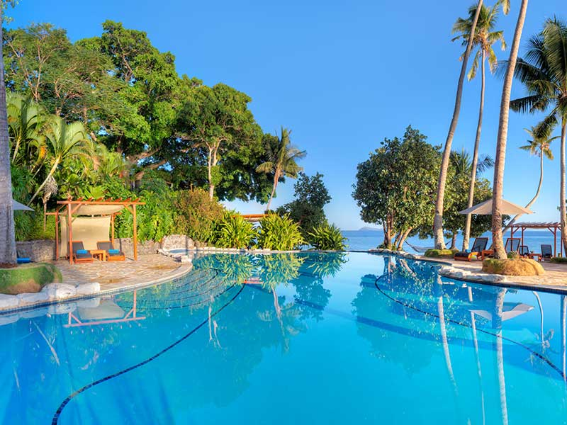 Royal Davui Island Resort - Poolside