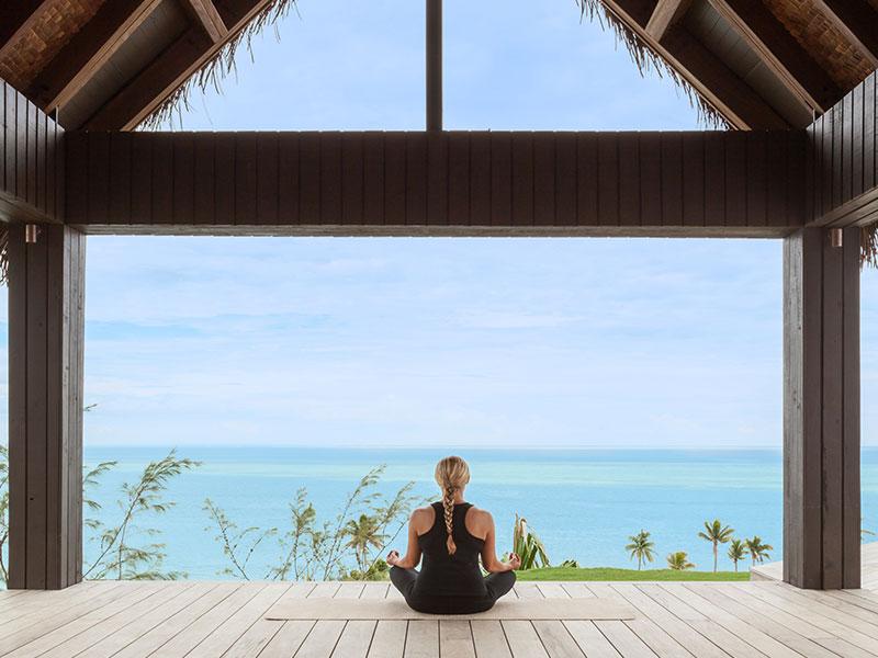 Six Senses Fiji - Yoga