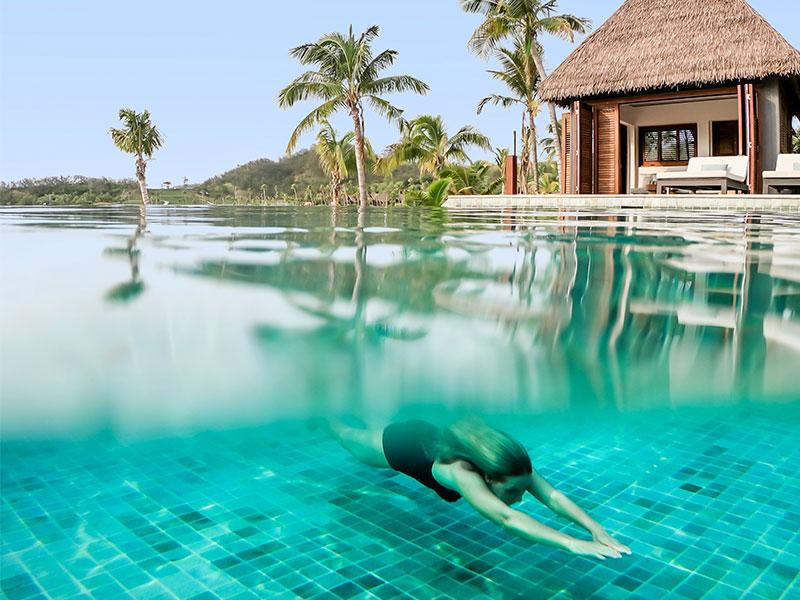 Six Senses Fiji - Poolside