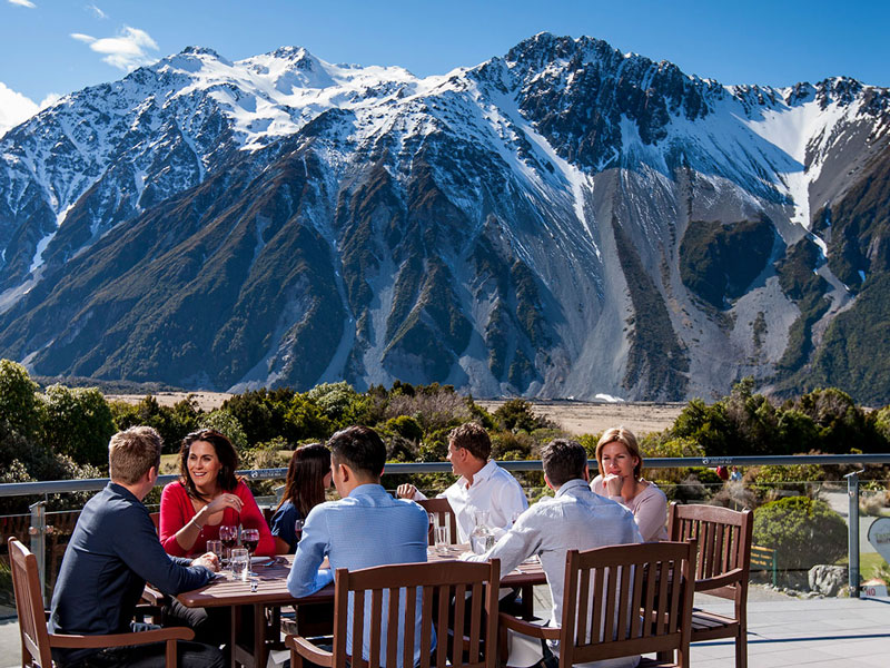 The Hermitage Hotel - Mt Cook