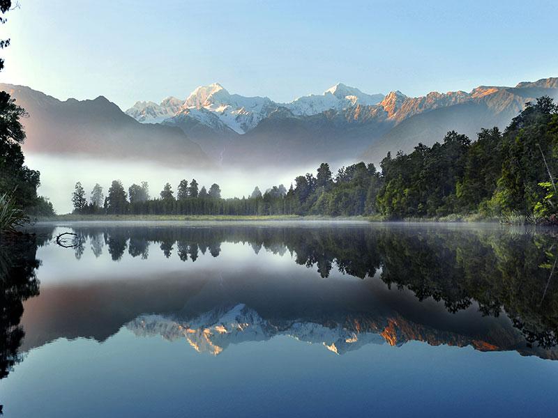 Lake Matheson, West Coast, New Zealand