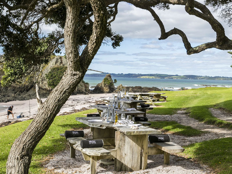 Kauri Cliffs, Bay Of Islands - Picnic Lunch