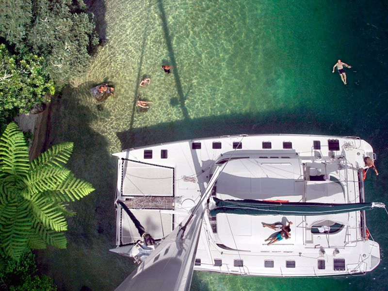 White Island by Helicopter & Sailing Lake Rotoiti Private Tour