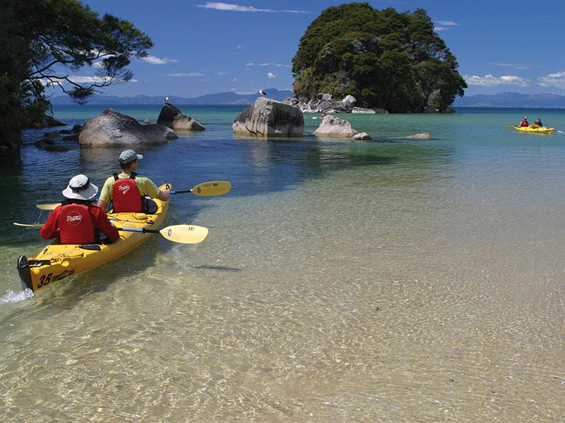 Stonefly Lodge - Kayaking Abel Tasman N.P