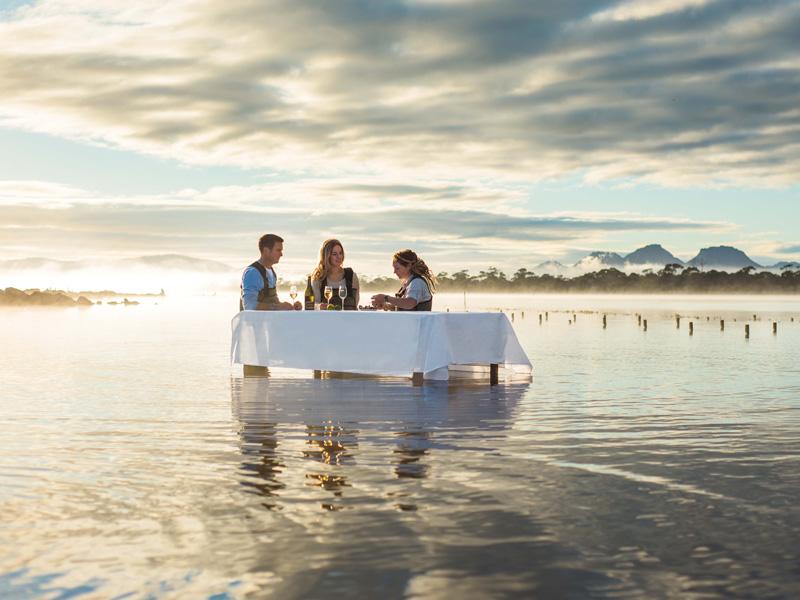 Saffire Freycinet, Tasmania - Marine Farm Experience