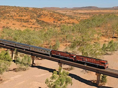 The Ghan Train Gold Service
