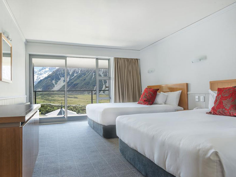 The Hermitage Hotel Mount Cook - Superior Room