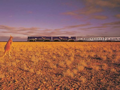 The Indian Pacific Train Gold Service