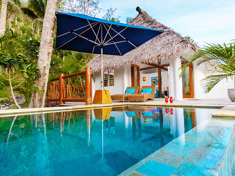 Tropica Island Resort - Honeymoon Pool Bure