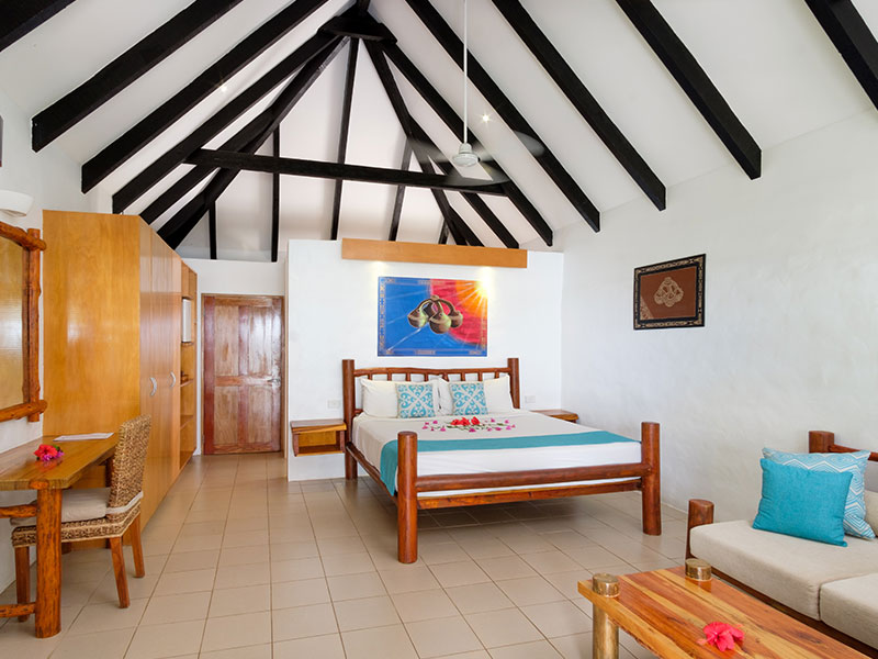 Tropica Island Resort - Beachfront Bure