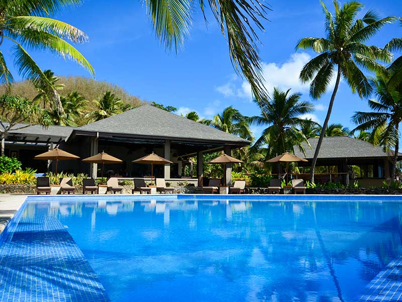Yasawa Island Resort & Spa - Poolside